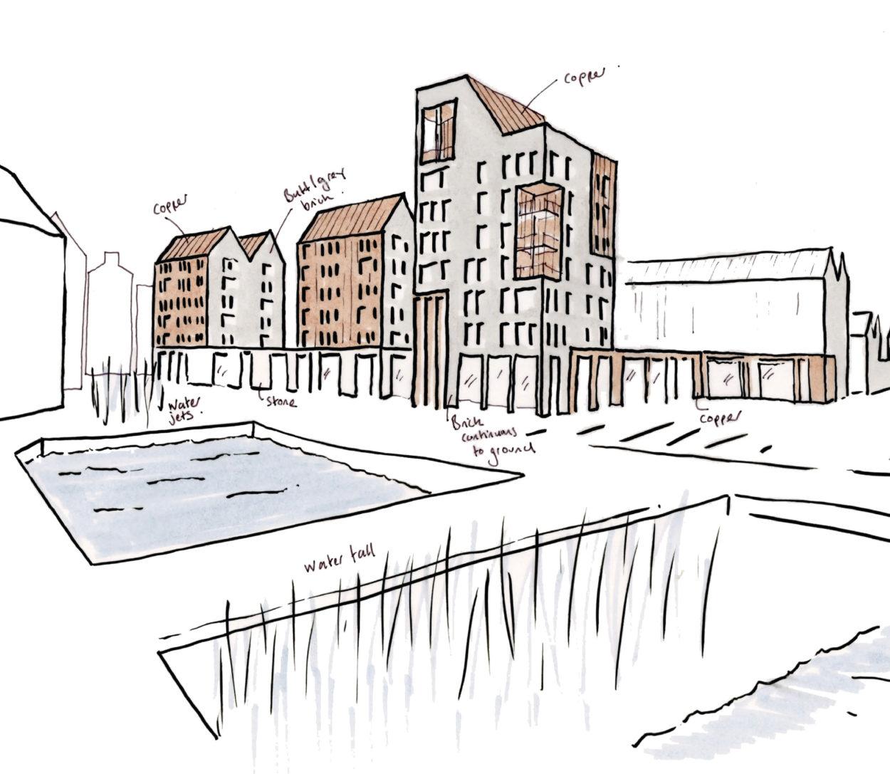 Water Row Masterplan
